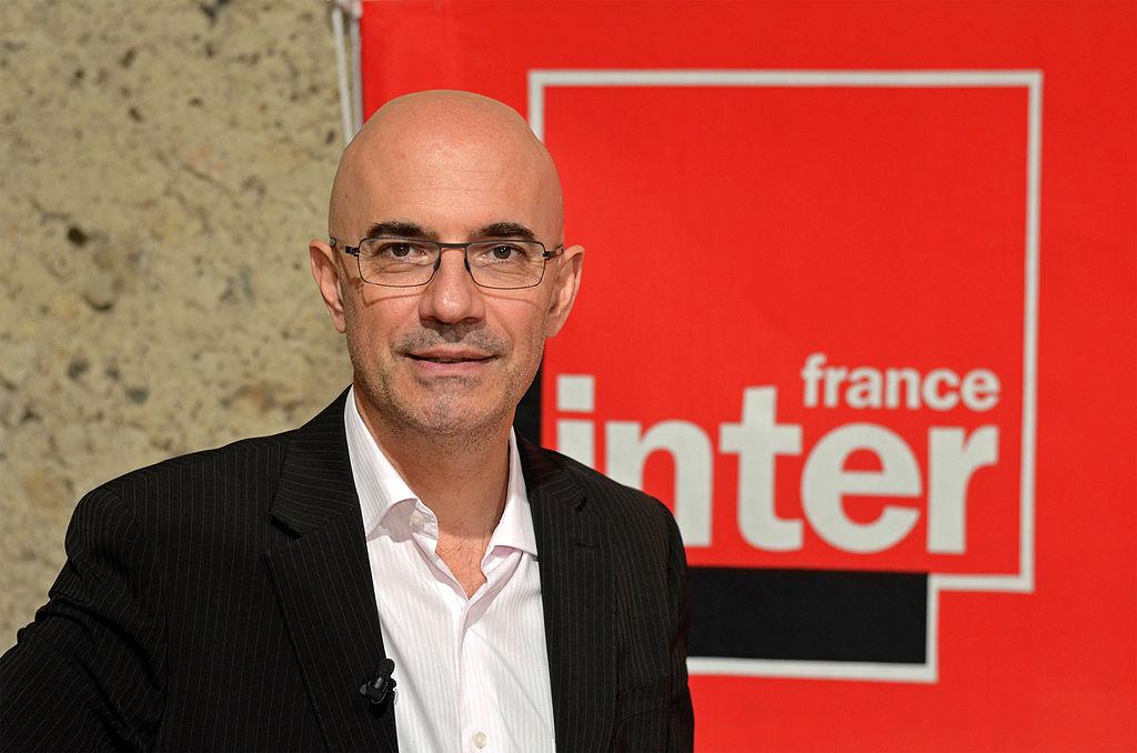 Nicolas Stoufflet, après l'enregistrement de l'émission à Couture-sur-Loir (Loir-et-Cher) (wikipedia)
