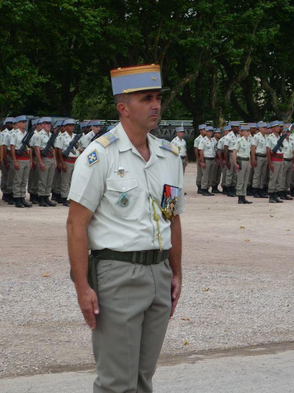 Départ du colonel Marc Espitalier