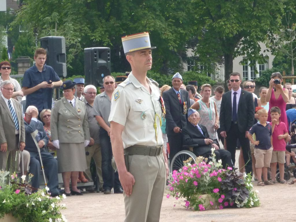 Le nouveau chef de corps  : le lieutenant colonel Franck Boudet