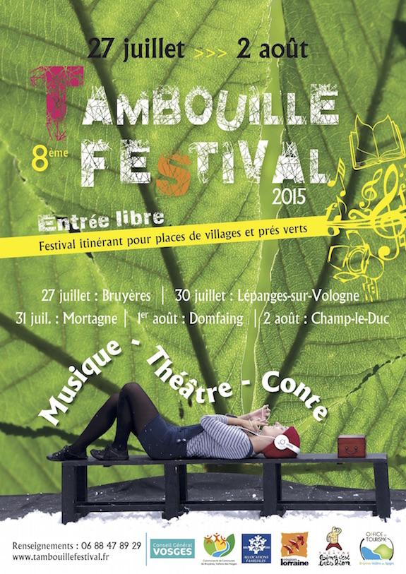 affiche Tambouille 2015 (v2) légère