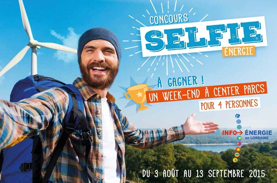 Affiche Selfie énergie