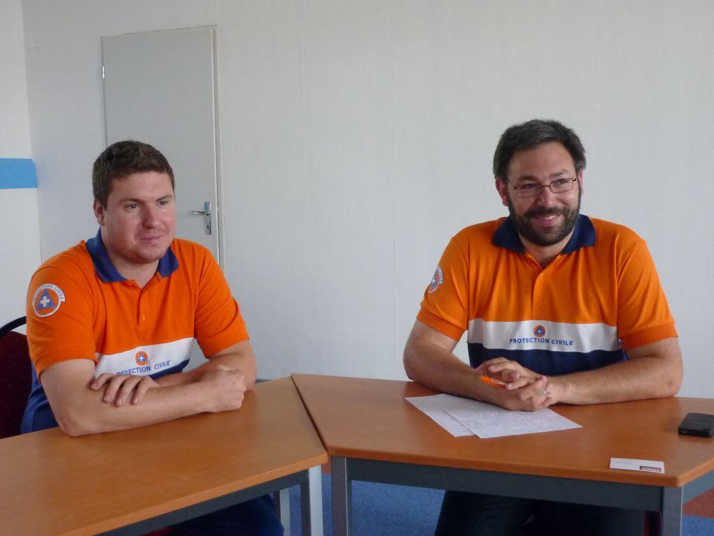 Clément Bauer et Jean-Christophe Roussel