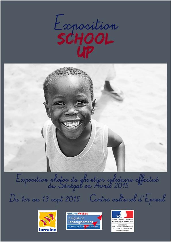 affiche expo Sénégal