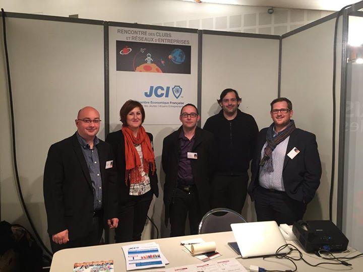 Les membres de la future JCE d'Epinal à la soirée des réseaux organisée par la CCI  (crédit photo FB JCE)