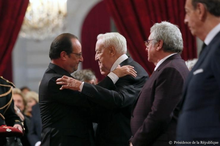 Photographies : Présidence de la République.