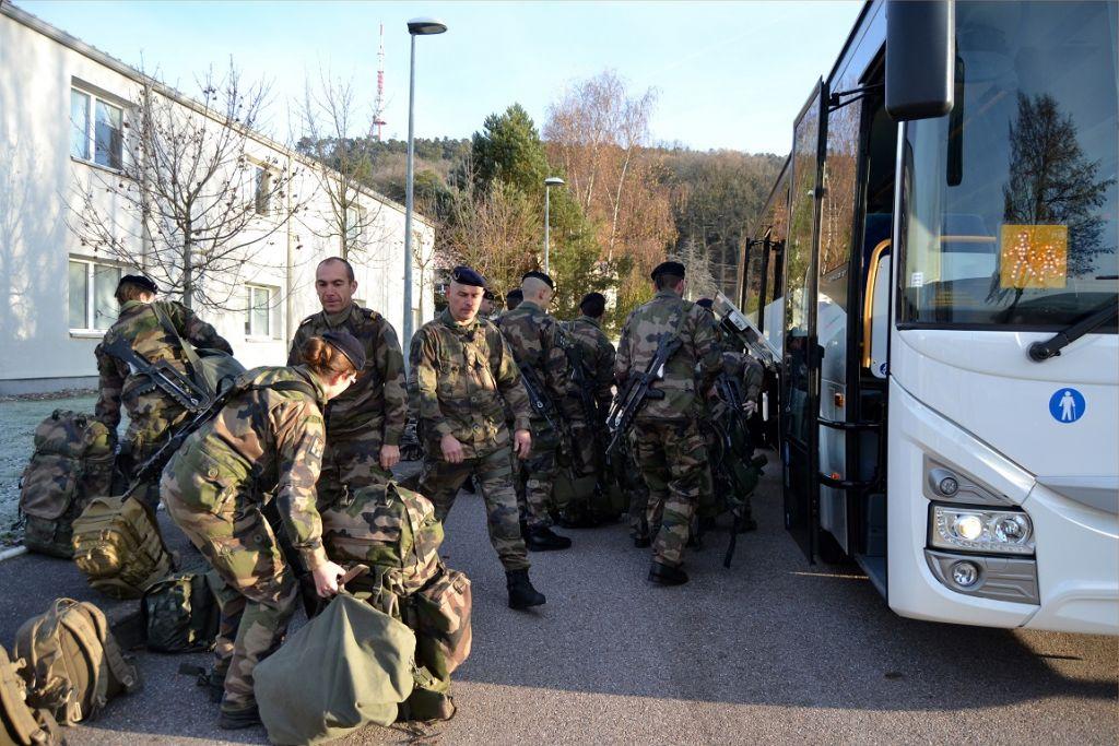 Les crédits photos: Camille S./Cellule COM/ 1er régiment de tirailleurs.