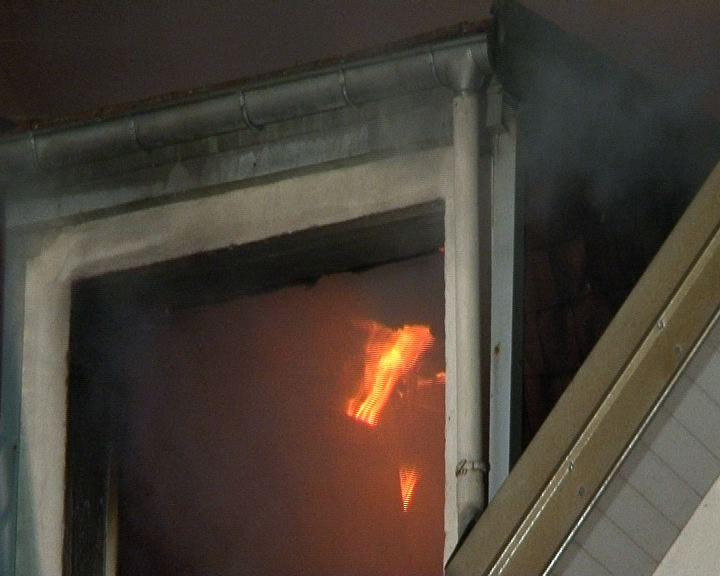 Incendie Rue d'Alsace à Epinal 1