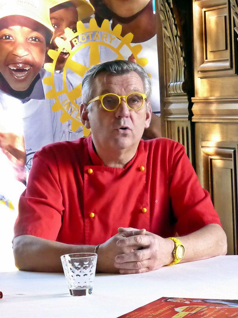 Claudy Obriot, le chef du restaurant les Ducs de Lorraine, fera une démonstration culinaire dimanche à 16h30