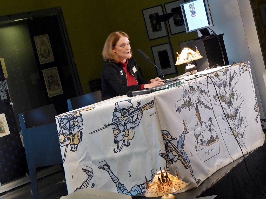 Thérèse Willer conservatrice au musée Tomi Ungerer