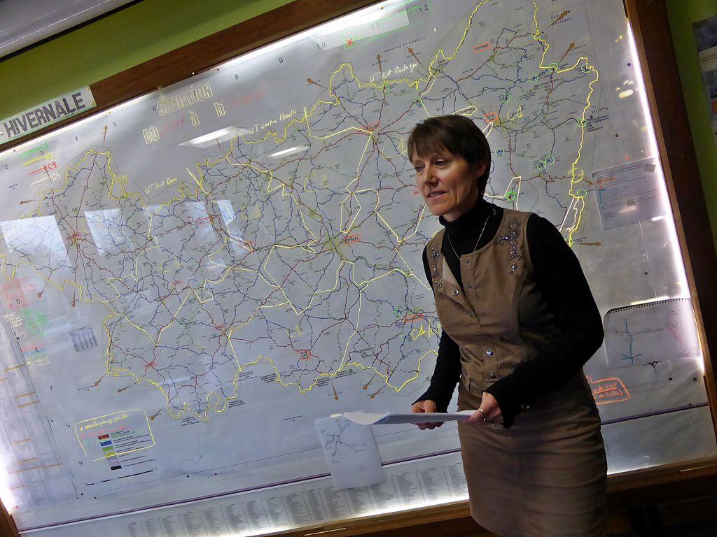 Véronique Marcot, vice président au Conseil départemental en charge des routes