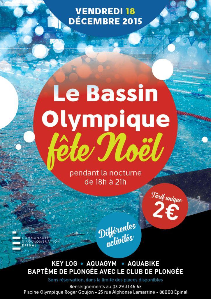 Affiche A3 piscine HD