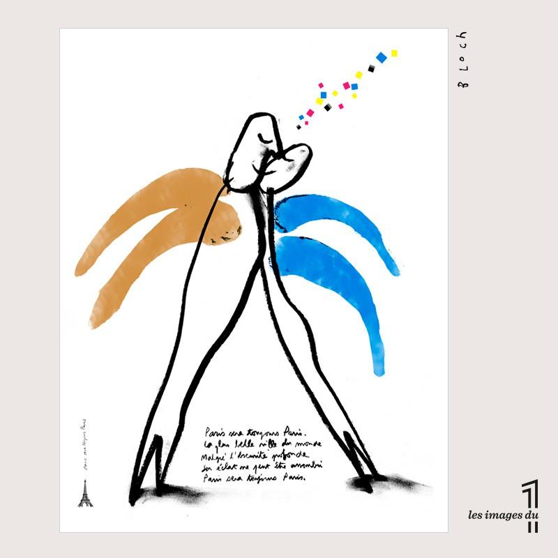 """Image """"Paris sera toujours Paris"""" de Serge Bloch"""