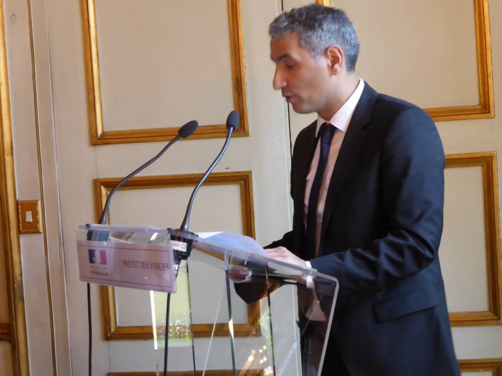 Le directeur de cabinet Fayçal Douhane