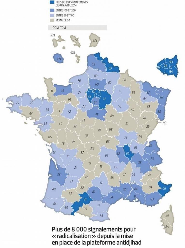 (Infographie et carte Le Figaro )