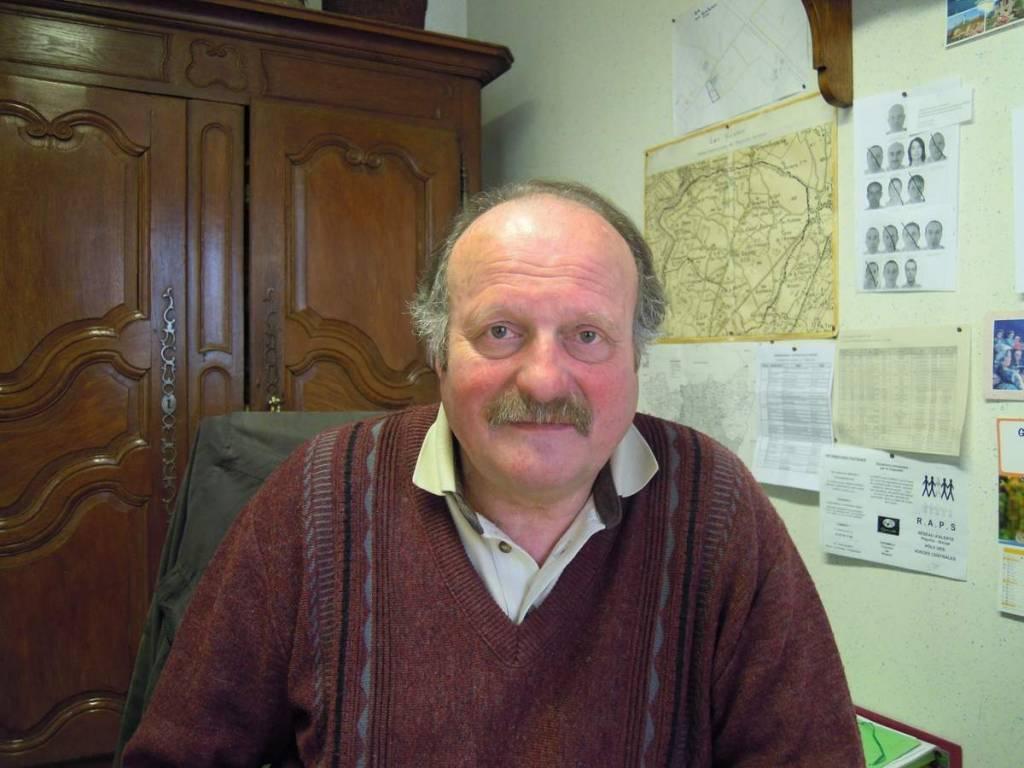 Michel Fournier, maire de Les Voivres. (crédits photo mairie Les Voivres)