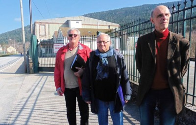 Roger Froissard, Dominique Humbert et Philippe Renahy.