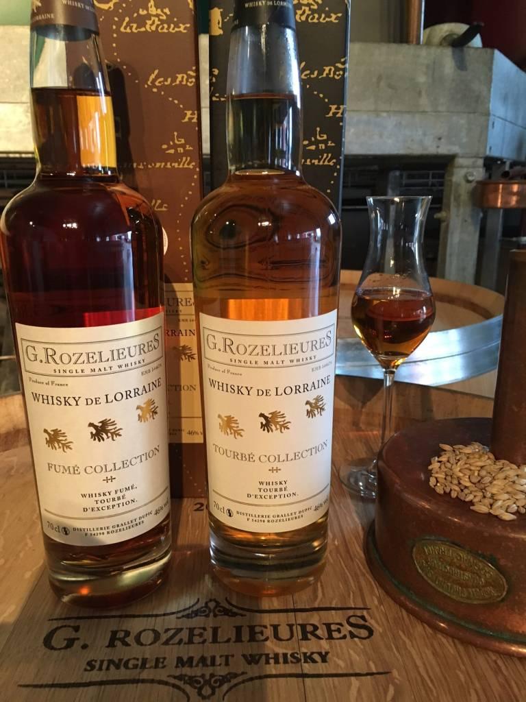 whiskies fumé et tourbé médaillés 2016