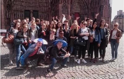 Français et Finlandais ensemble au cœur de l'Europe, à Strasbourg