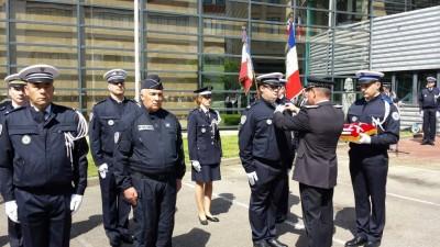 ceremonie police