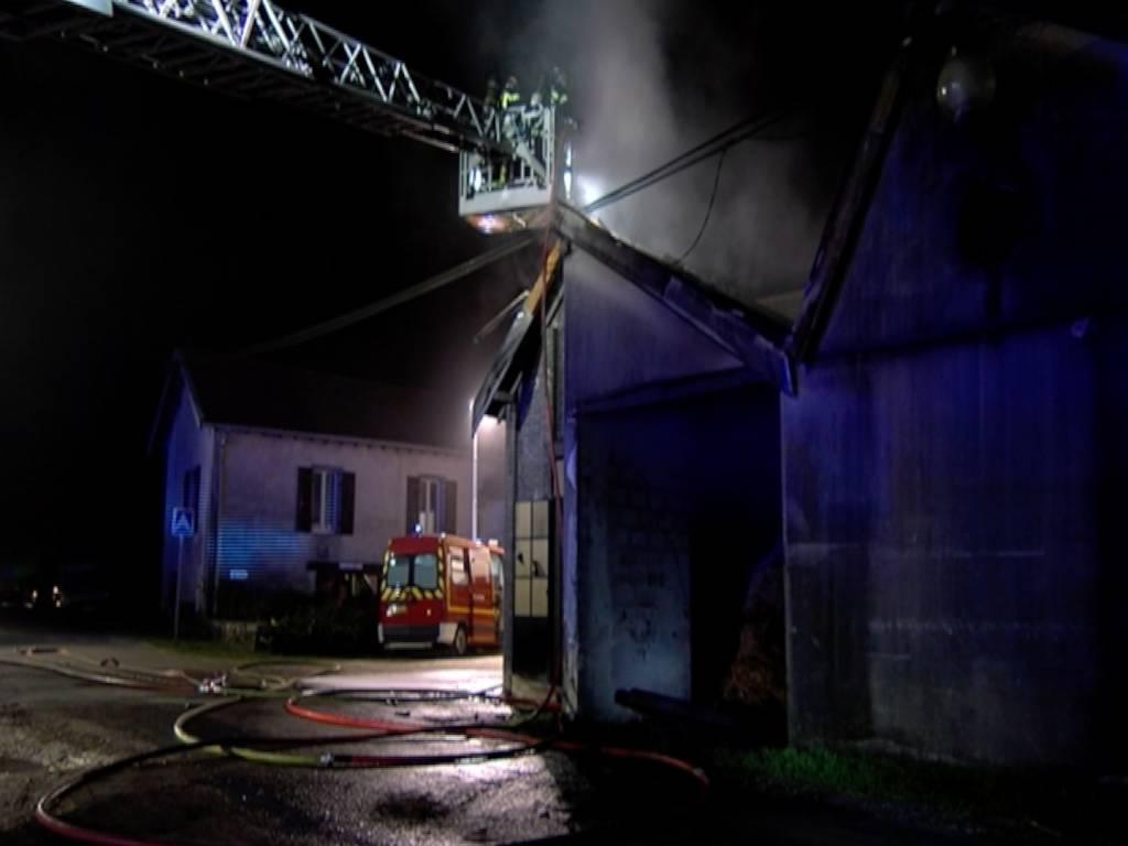 Incendie Chenimènil Centre Equestre 1