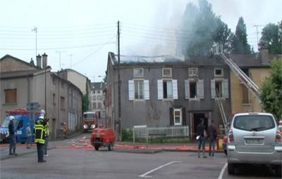 Incendie-Mirecourt