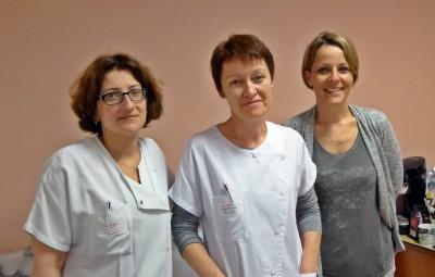 L'équipe de coordination hospitalière don d'organes à l'hôpital Emile Durkheim