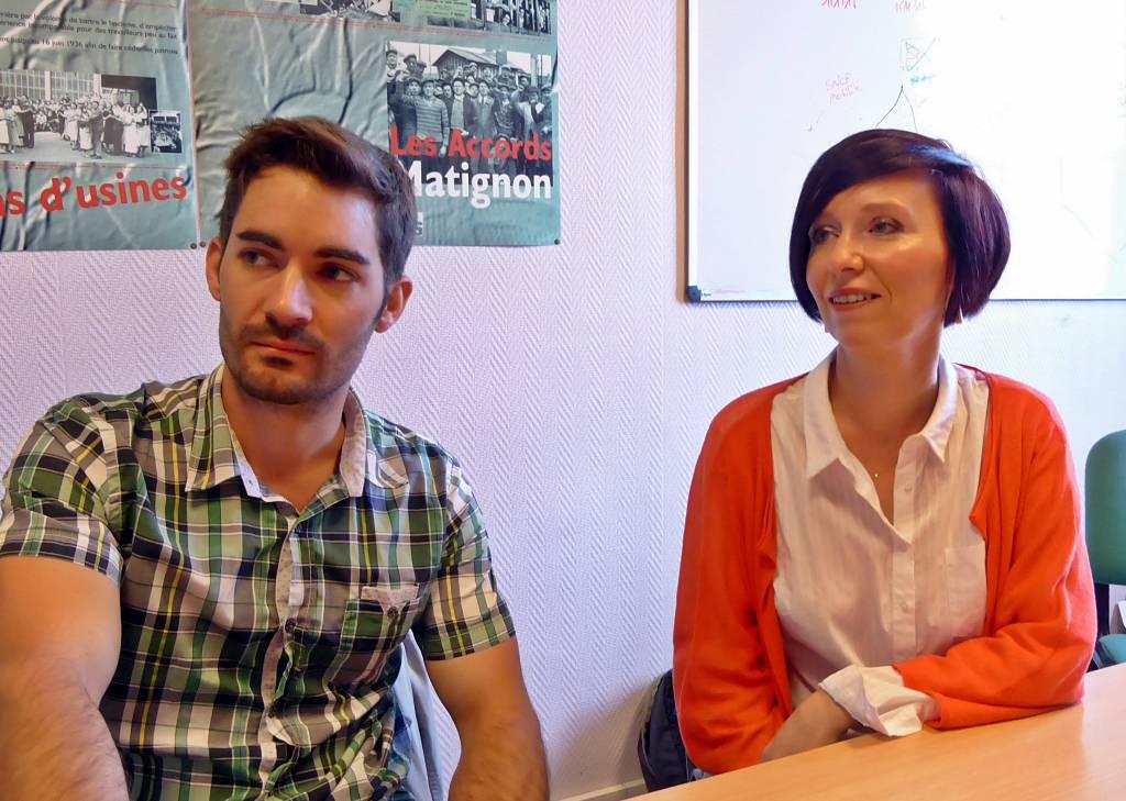 Aurélien Frechin et Me Stéphanie Picoche