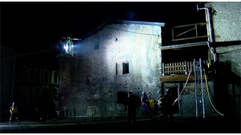 Incendie 1 Rambervillers 13 juillet 16