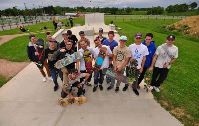 (Photographie FB Woodmen Skateboarding)