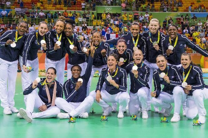 Equipe de France de handball féminin © DPPI.