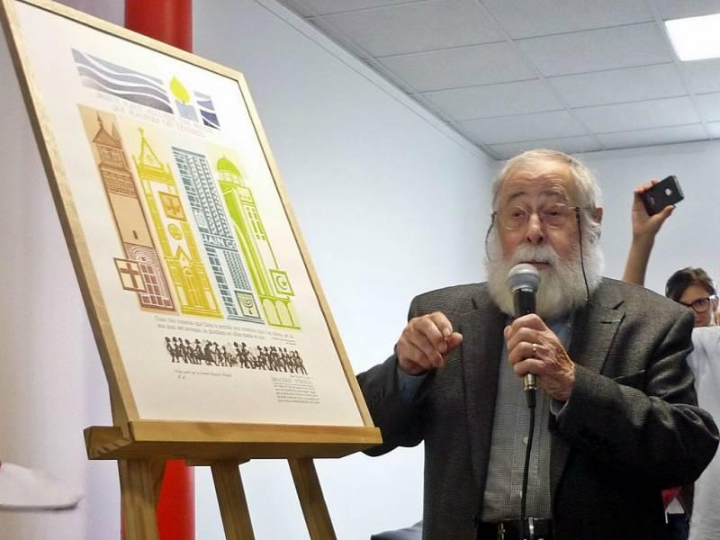 L'imagier Jean-Paul Marchal aujourd'hui décédé (photo d'archives)
