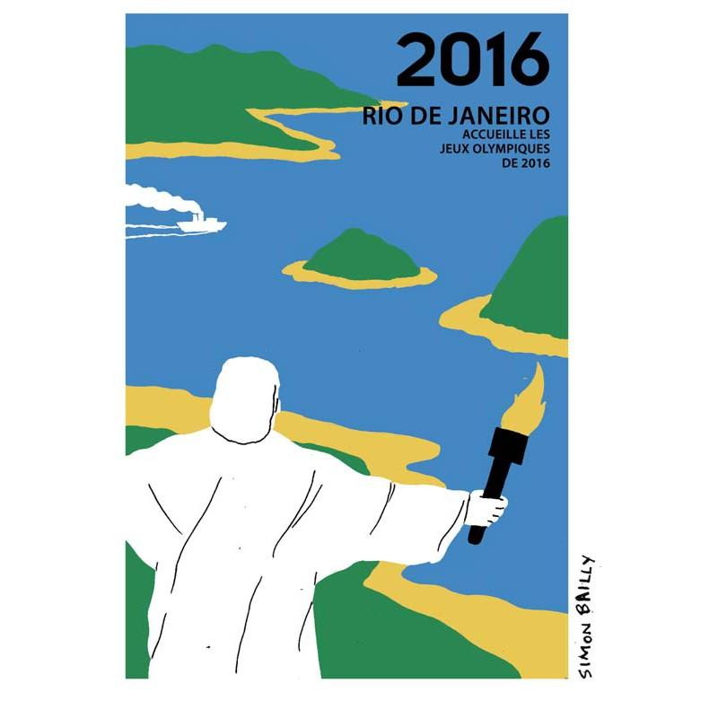 les jeux olympiques par Simon Bailly