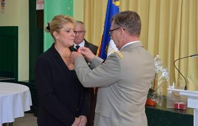 Valérie Thil a été promue Chevalier de la Légion d'Honneur le 1er janvier dernier.