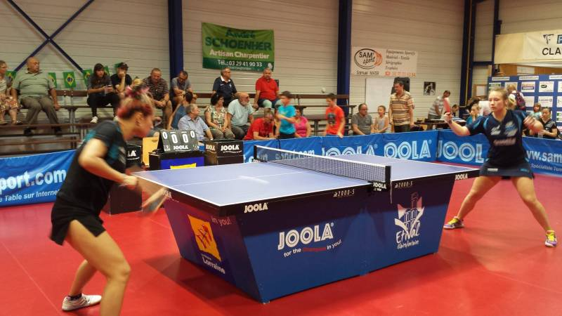 Tennis de table etival y tait presque vid o epinal infos - Grand quevilly tennis de table ...
