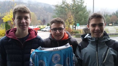 trio jeunes cyclo st etienne