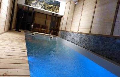La nouvelle piscine du Grand Hôtel est opérationnelle depuis le 23 décembre