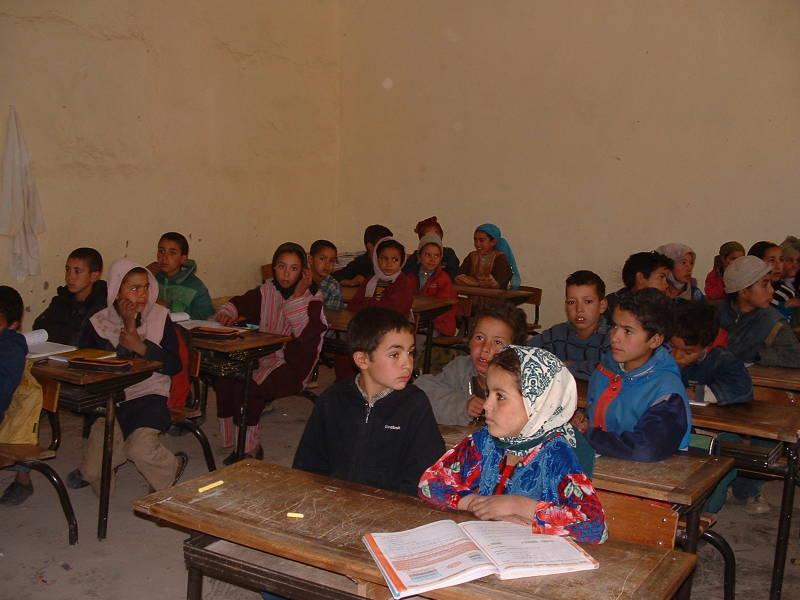 Les écoliers de Taghia