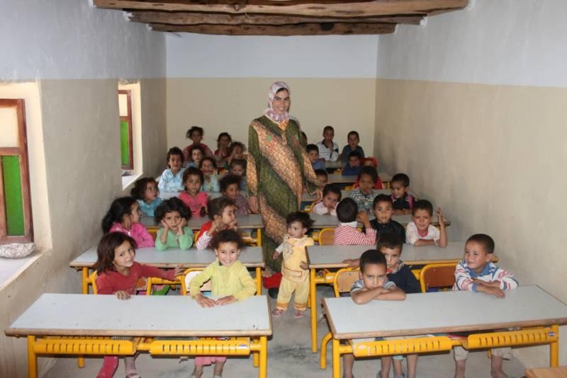L'école maternelle de Taghia