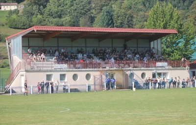 Le stade du Val-d'Ajol.