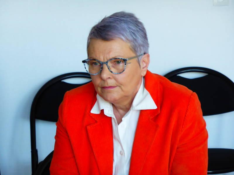 La nouvelle présidente de la Ligue de l'enseignement des Vosges, Christine Devallois