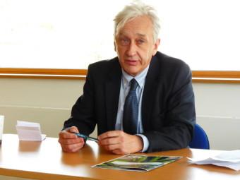 Benoît Jourdain, président du SICOVAD