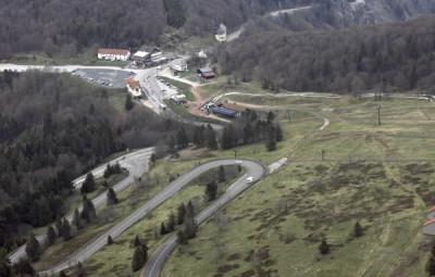 col-schlucht- Vue depuis RD 430