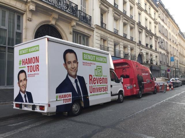 (photographie compte Twitter Benoît Hamon)
