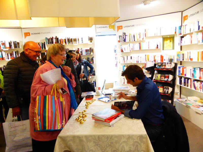 Laurent mariotte epinal pour d dicacer son nouveau livre epinal infos - Livre de cuisine de laurent mariotte ...
