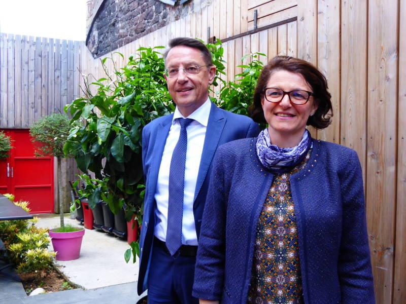 Christine Urbès et Serge Vincent