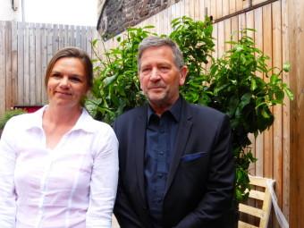 Alison Hamelin et Bernard Visse pour la 1è circonscription, celle d'Epinal.
