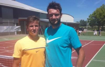 Antoine Vincent et Hugo Perrin