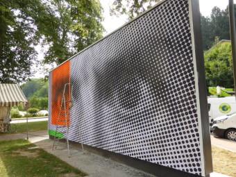 Le Mur en pleine transformation ce vendredi matin