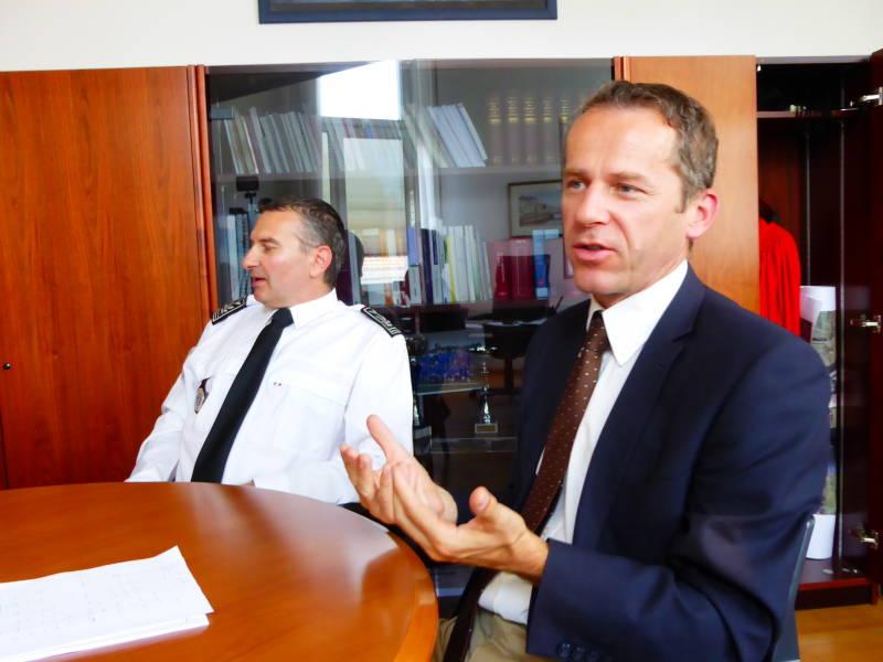 Le commissaire de police et le procureur de la République reviennent sur les faits