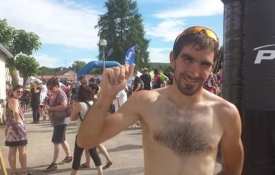 Romain Morel le vainqueur